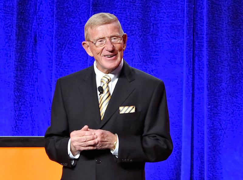 Lou Holtz Motivational Speaker