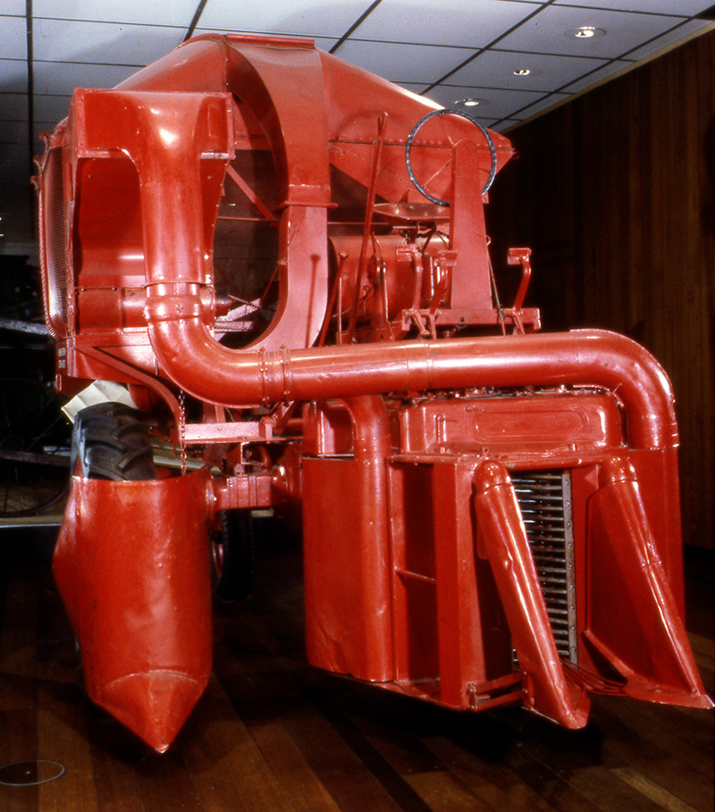 International Harvester H-10-H cotton harvester
