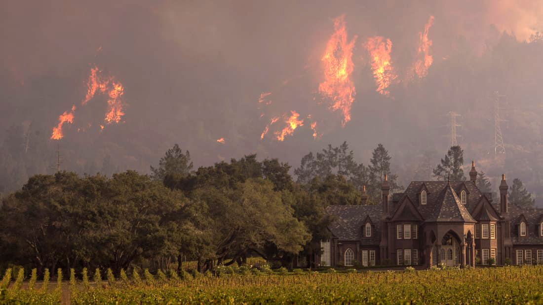 CA Wine Country Fires