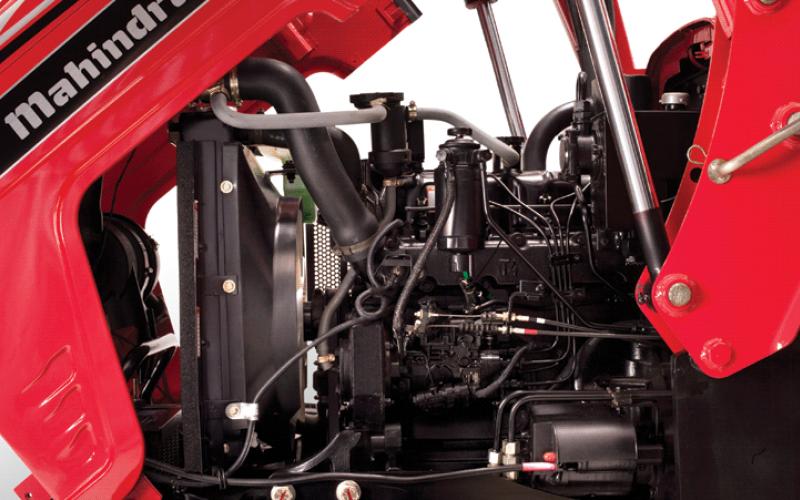 Mahindra 4540 2WD Engine