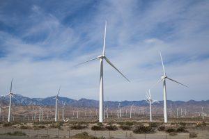 California Mountain Wind Farms