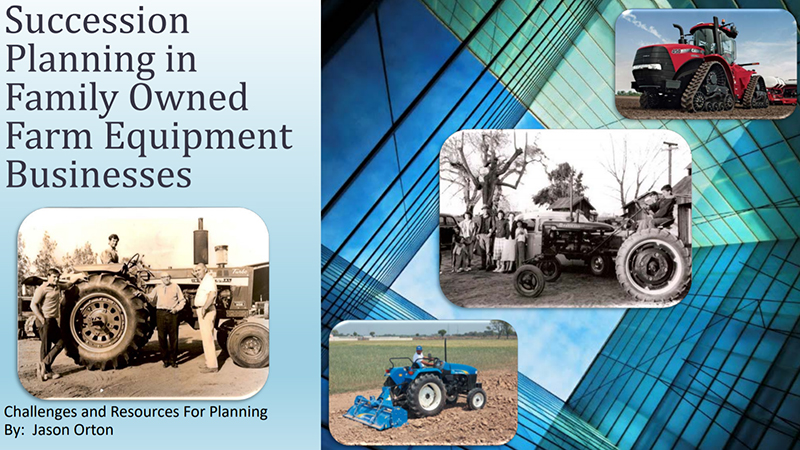 Farm Equipment Business Succession Planning