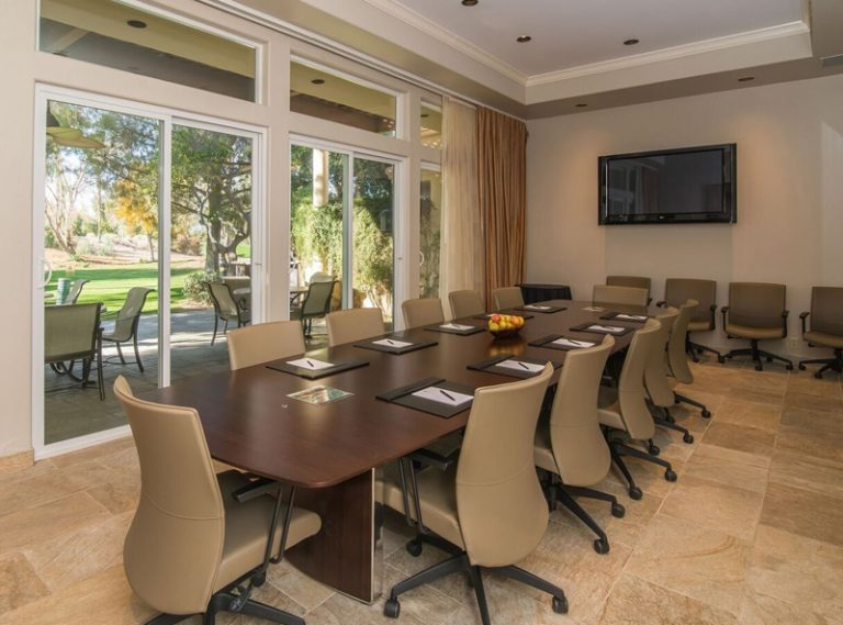 Hyatt Indian Wells Villa Boardroom