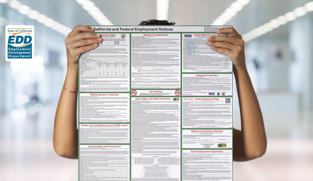 EDD Updates Required Poster, Pamphlet