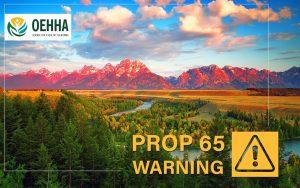 CA Prop 65 Warning OEHHA
