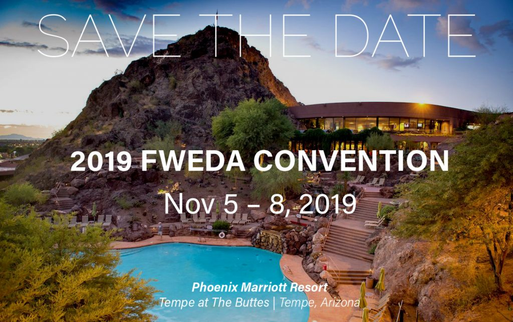 Save the Date 2019 FWEDA Convention