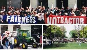 2001 California Tractor Tax