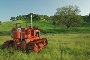 Diesel Machinery in California Field