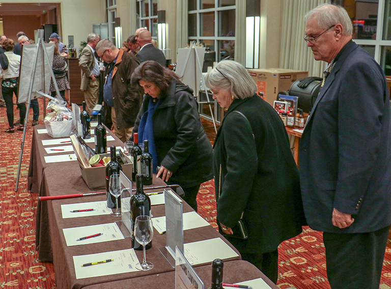 FWEDA's Annual Silent Auction supports the scholarship program
